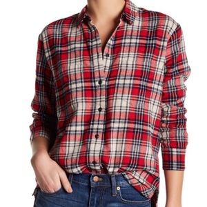 Madewell Oversized Flannel